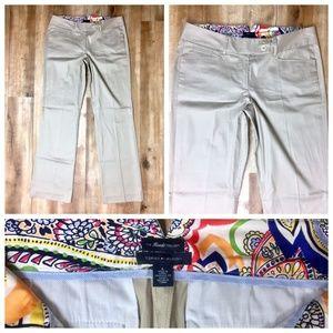 Tommy Hilfiger Khaki 'Reade Trouser' Pants 6